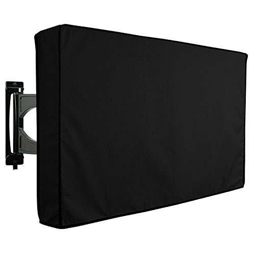 KHOMO GEAR Outdoor TV Cover - Panther Series - Universal Weatherproof Protector for 60 - 65 Inch TV - Fits Most Mounts & Brackets