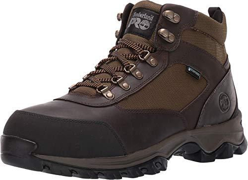 Timberland PRO Men's Keele Ridge Steel Toe Waterproof Industrial Boot, brown, 10
