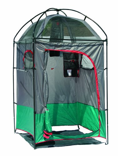 Texsport Instant Portable Outdoor Camping Shower Privacy Shelter Changing Room Gray