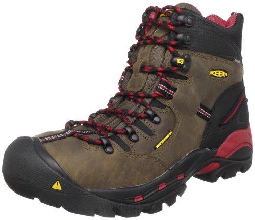 KEEN Utility Men's Pittsburgh 6' Steel Toe Waterproof Work Boot, Bison/Bison, 10 Medium US