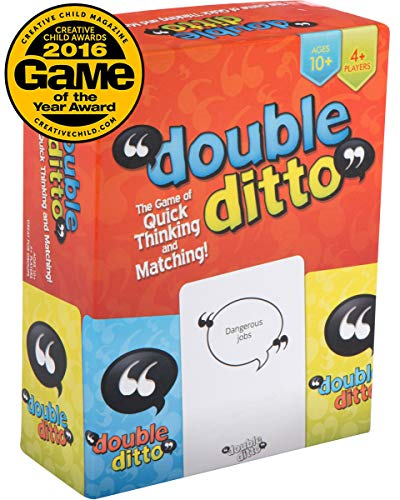 Double Ditto - The Hilarious, Award-Winning Family Party Board Game for Adults, Teens & Kids (8 and up)