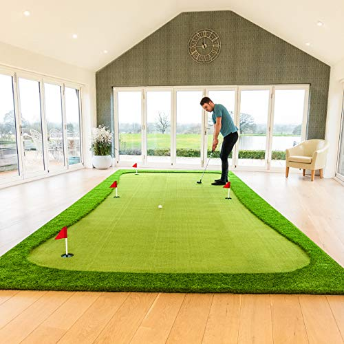 FORB Professional Putting Mats   Golf Accessories   Putting Practice Golf Mat   Indoor Putting Green   Putting Mats Indoor   Standard, XL & XXL (Standard)