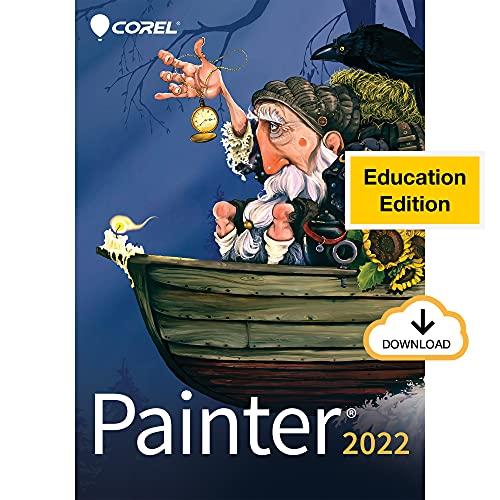 Corel Painter 2022 Education | Professional Digital Painting Software | Illustration, Concept, Photo & Fine Art [PC Download]
