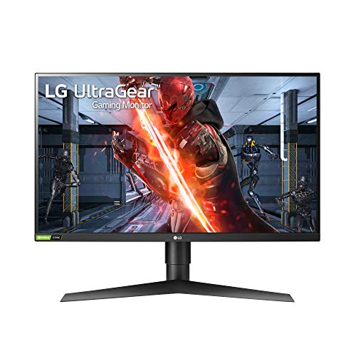 LG Electronics UltraGear 27GN750-B 27 Inch Full HD 1ms and 240HZ Monitor with G-SYNC Compatibility and Tilt, Height and Pivot Adjustable Stand, Black