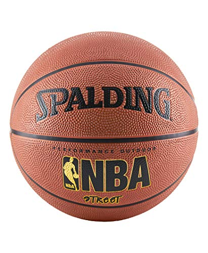 Spalding NBA Street Basketball - Official Size 7 (29.5'), Orange (632498)