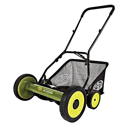 Sun Joe MJ502M 20-Inch Manual Reel Mower with Grass Catcher