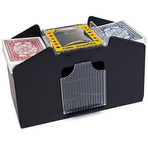 Brybelly Four Deck Automatic Card Shuffler