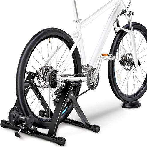 Topeakmart Premium Steel Bike Bicycle Indoor Exercise Trainer Stand/Bike Trainer