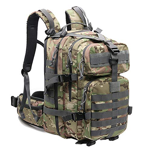 Hiking Backpack Military Tactical Bag for Men Bug Out Survival Bag Traveling,Hunting,Outdoor,Camping