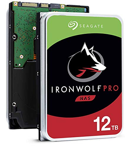 Seagate IronWolf Pro ST12000NE0008 12 TB Hard Drive - 512E Format - SATA 600-3.5' Drive - Internal - 7200RPM - 256 MB Buffer - Hot Pluggable (Renewed)