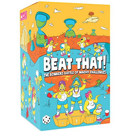 Beat That! - The Bonkers Battle of Wacky Challenges [Family Party Game for Kids & Adults]