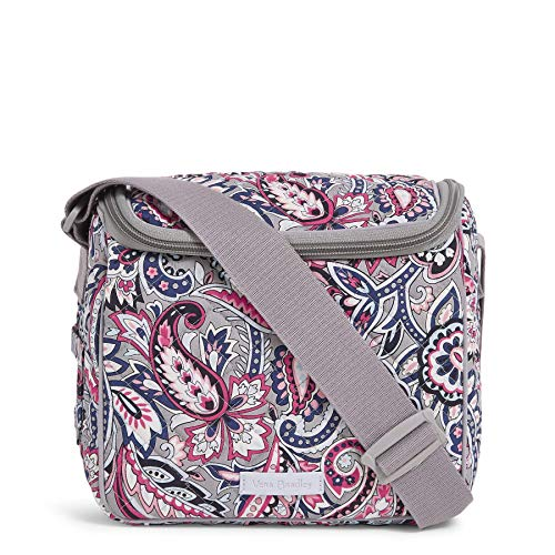 Vera Bradley Women's Signature Cotton Stay Cooler Lunch Bag, Gramercy Paisley