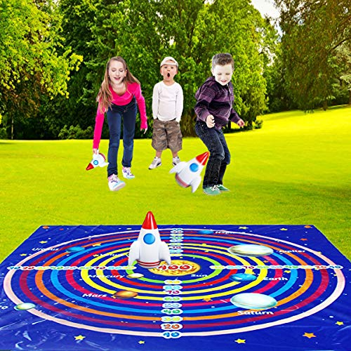 Lawn Darts,Lawn Games,Outdoor Games for Family - Yard, Games and Fun Family Games for Kids and Adults, Lawn Darts Outside Games, Indoor Activities, Target Toys(48inch